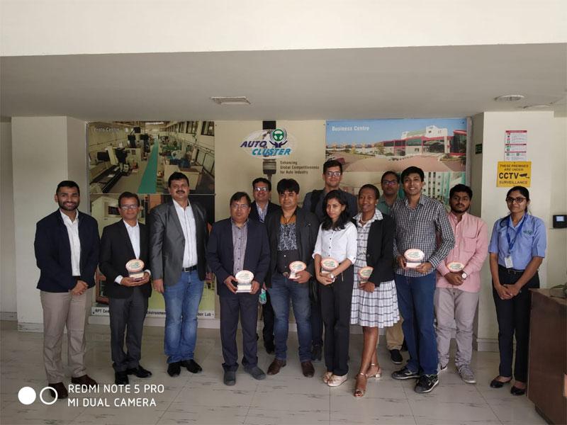 International Delegates Visit